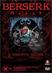 Berserk - V2 - Immortal Soldier on DVD