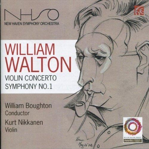 William Walton: Violin Concerto, Symphony No. 1 (2 Discs) by William Walton