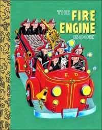 The Fire Engine Book by Golden Books image