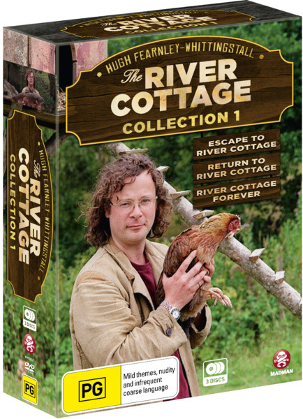 The River Cottage - Collection 1 Box Set on DVD