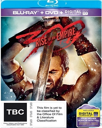 300: Rise Of An Empire on DVD, Blu-ray