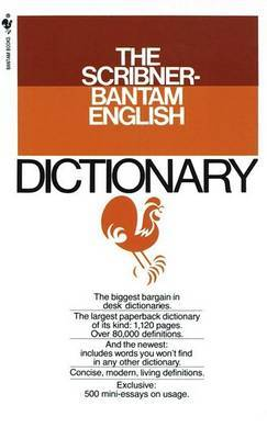 The Scribner-Bantam English Dictionary by Edwin Bucher Williams