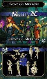 Malifaux: Arcanists - Smoke and Mirrors (Colette)