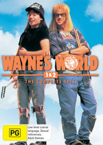 Wayne's World 1 And 2 - The Complete Epic (2 Disc Set) on DVD