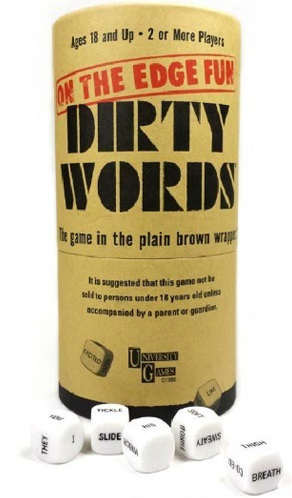 University Games: Dirty Words - Dice Game image
