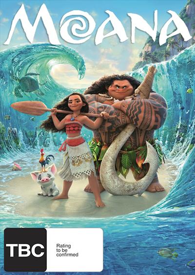 Moana DVD image