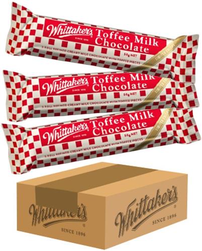 Whittakers Toffee Milk Chunks BULK image