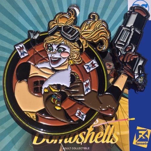 DC Bombshells - Harley Quinn Badge Pin image