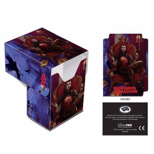 Dungeons and Dragons Count Strahd von Zarovich Full View Deck Box