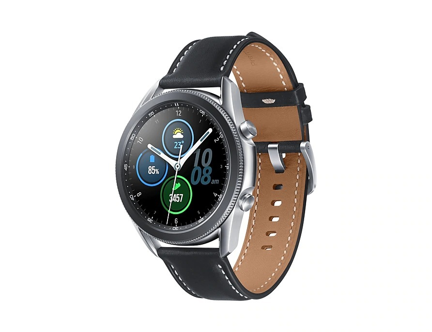 Samsung R840 Galaxy Watch 3 Stainless Steel 45mm - Mystic Silver image