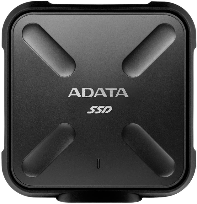 512GB ADATA SD700 USB 3.2 Gen1 Rugged IP68 External SSD Black