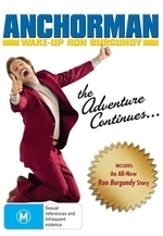 Anchorman: The Legend Of Ron Burgundy / Wake-Up Ron Burgundy (2 Disc Set)  on DVD