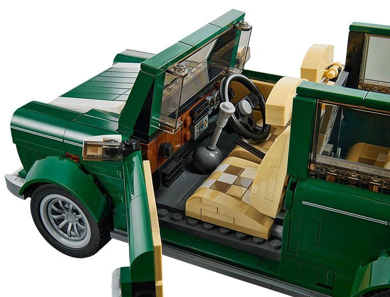 lego creator mini cooper 10242 toy at mighty ape nz. Black Bedroom Furniture Sets. Home Design Ideas