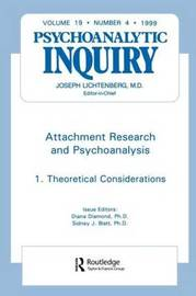 Attachment Research and Psychoanalysis