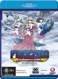 Freezing Vibration Collection on Blu-ray