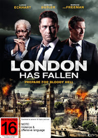 London Has Fallen on DVD