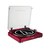 Audio Technica LP60RD Belt Drive Turn Table - Red