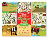 Melissa & Doug: Farm - Reusable Sticker Pad