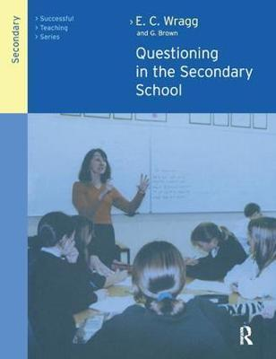 Questioning in the Secondary School by George A Brown image