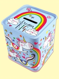 Rachel Ellen Money Box Tin (Dream Big)