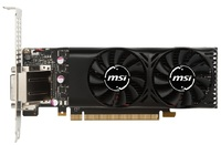 MSI GeForce GTX 1050 TI 4GB Low Profile Graphics Card