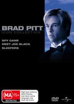 Brad Pitt Movie Collection (Spy Game / Meet Joe Black / Sleepers) (3 Disc Set) on DVD