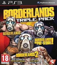 Borderlands Triple Pack for PS3