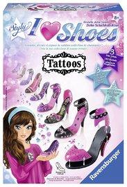 Ravensburger : I Love Shoes Tattoos