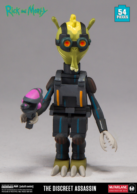 Rick and Morty: The Discreet Assassin - Micro Construction Set