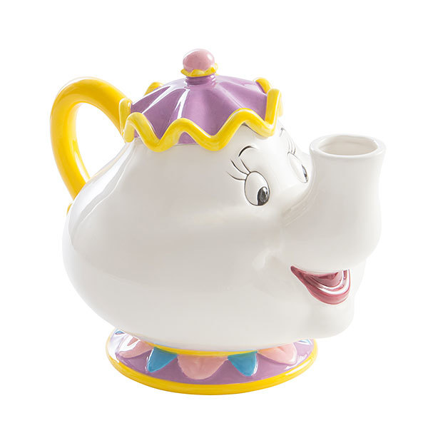 Beauty and the Beast Mrs. Potts Sculpted Ceramic Teapot image
