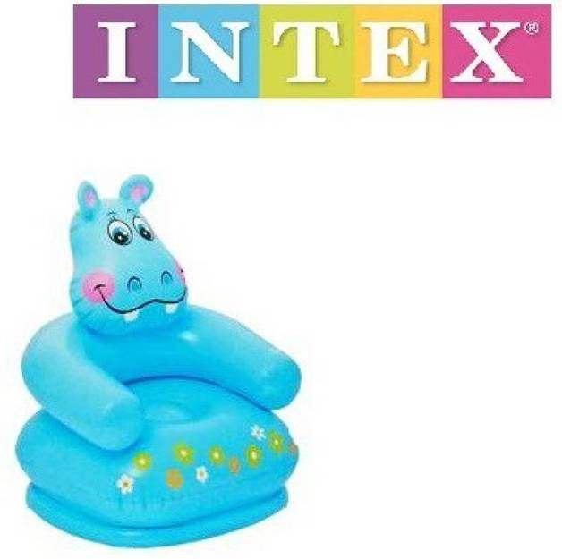 Intex: Happy Animal Chair - Hippo