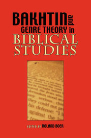 Bakhtin and Genre Theory in Biblical Studies image