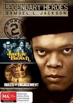 Legendary Heroes - Samuel L. Jackson (Jackie Brown / Rules Of Engagement) (2 Disc Set) on DVD