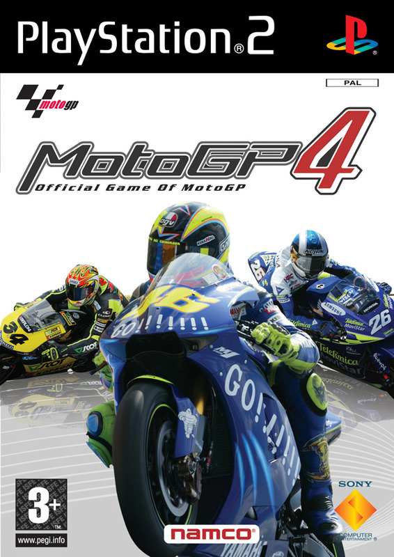 MotoGP 4 for PlayStation 2