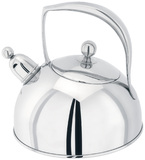 Stellar - Bresor Polished Stove Top Kettle, 2.0L