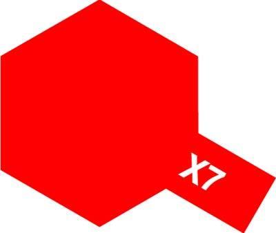 Tamiya Enamel: Red (X7)