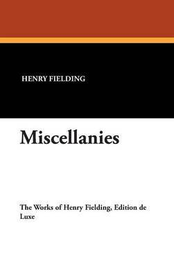 Miscellanies by Henry Fielding image