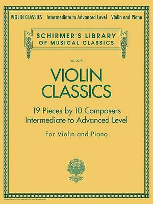 Schirmer's Library of Musical Classics image