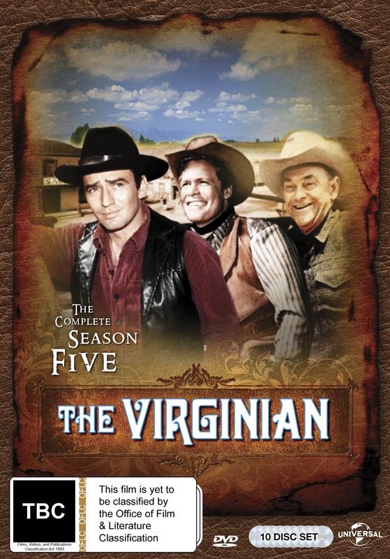 The Virginian: Season 5 on DVD