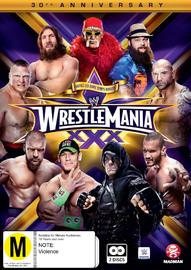 WWE - Wrestlemania 30 on DVD