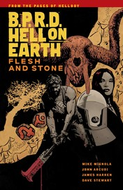 B.P.R.D Hell on Earth Vol. 11: Flesh and Stone by Mike Mignola image