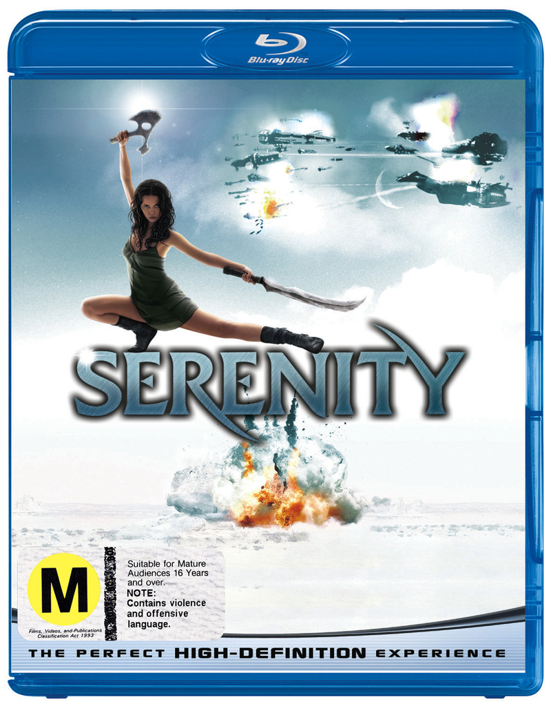 Serenity on Blu-ray image