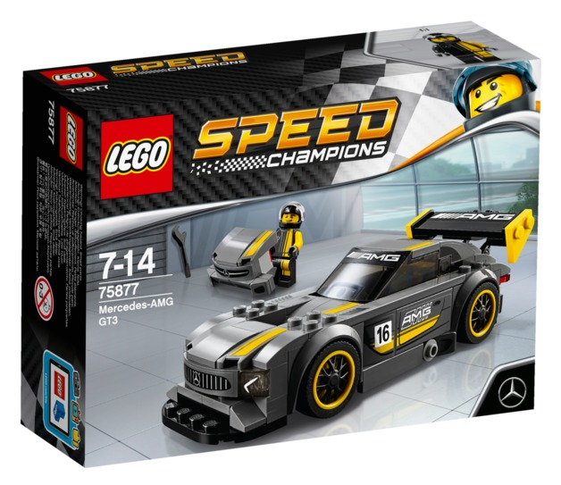 LEGO Speed Champions - Mercedes-AMG GT3 (75877)