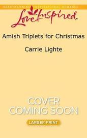 Amish Triplets for Christmas by Carrie Lighte image