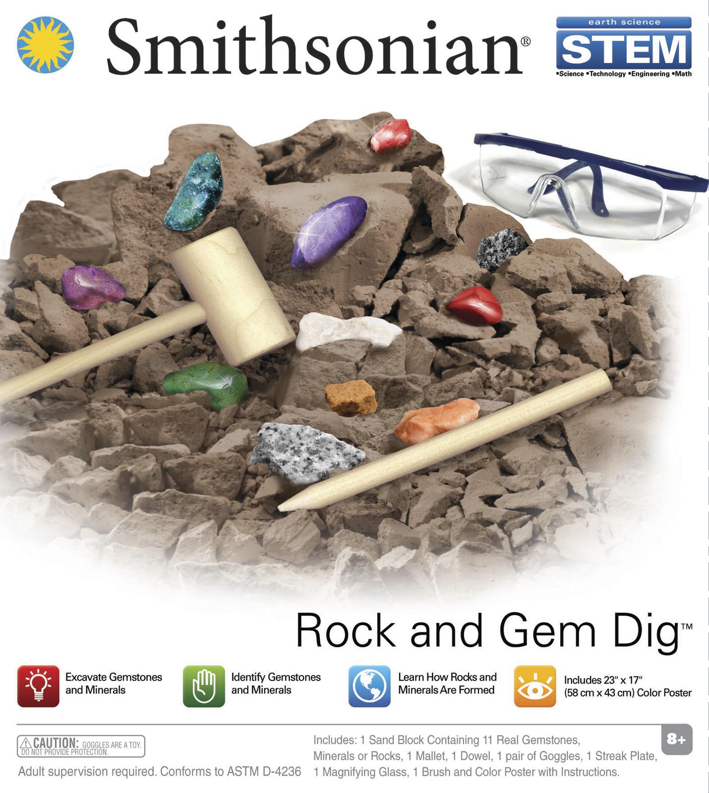 Smithsonian: Rock & Gem Dig image