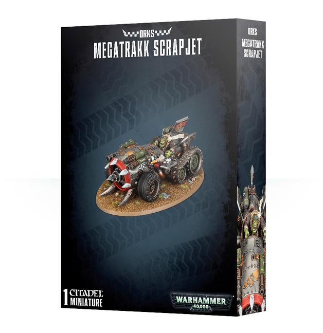 Warhammer 40,000 Orks Megatrakk Scrapjet