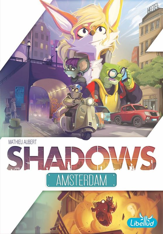 Shadows: Amsterdam - Board Game
