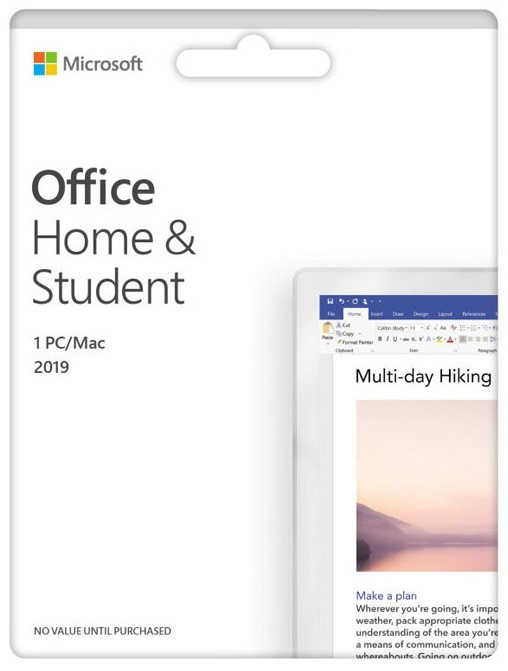 Microsoft Office 2019 Home & Student | at Mighty Ape NZ