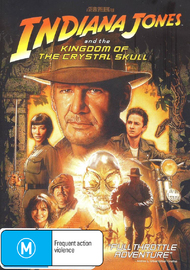 Indiana Jones and the Kingdom of the Crystal Skull on DVD image