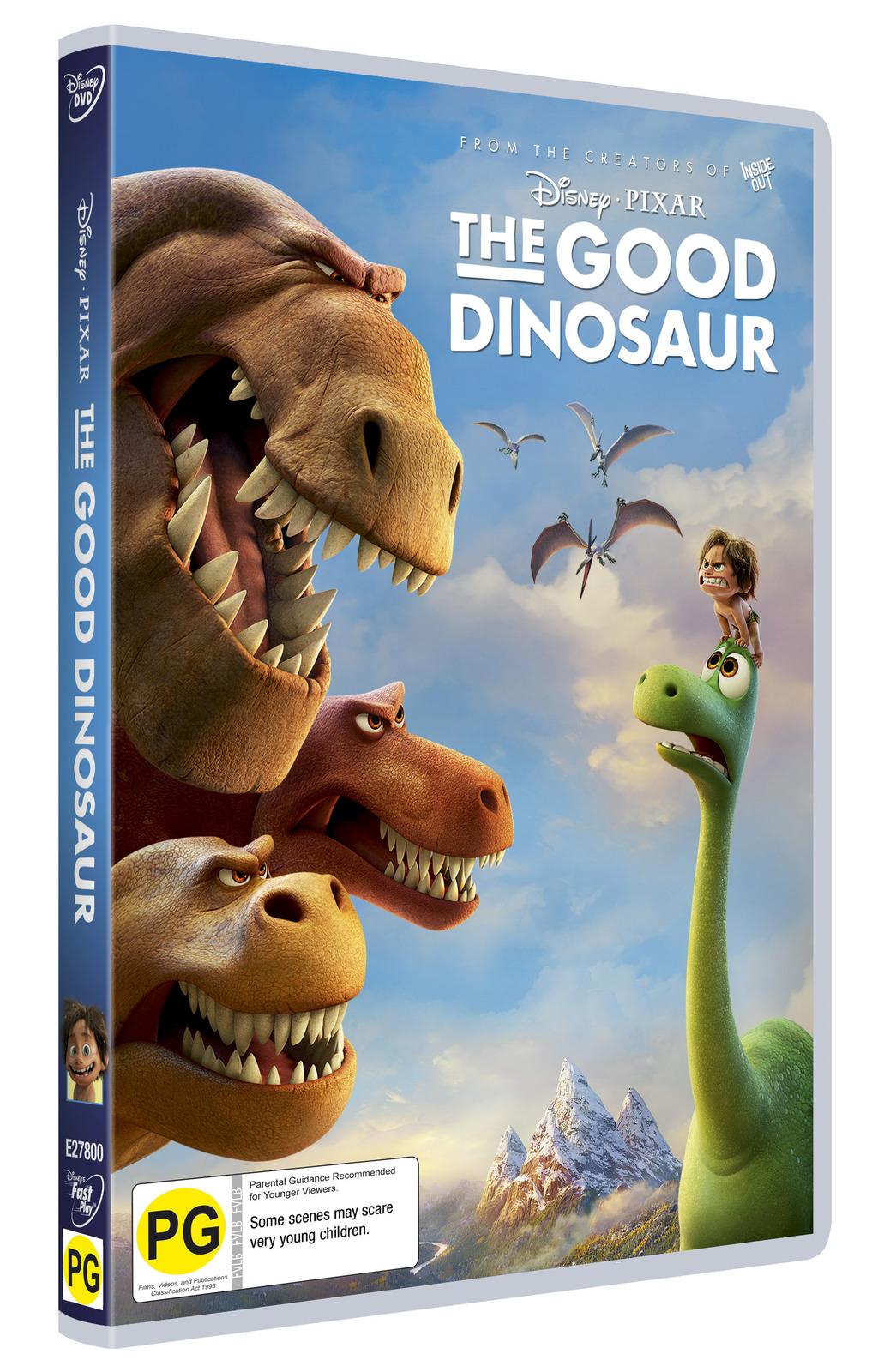 The Good Dinosaur on DVD image